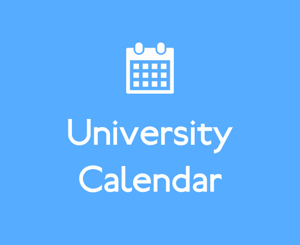 University Calendar 2018-2019