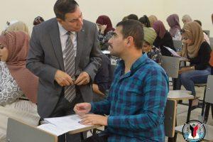 مساعد-رئيس-جامعة-بغداد-للشؤون-الادارية-يتفقد-سير-الامتحانات-النهائية-11